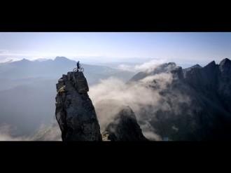 Danny Macaskill покоряет горные вершины на велосипеде